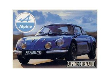 "Renault "" Alpine "" Berlinette"