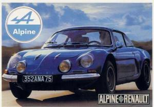 renault alpine berlinette hi roglyphes. Black Bedroom Furniture Sets. Home Design Ideas