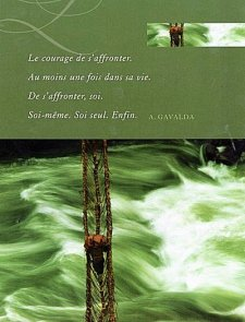 """Le courage de s'affronter,""..."