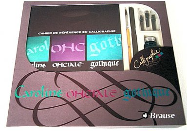 Coffret d'initiation à la Calligraphie N°2 (V)