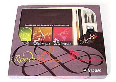 Coffret d'initiation à la Calligraphie N°1 (J)