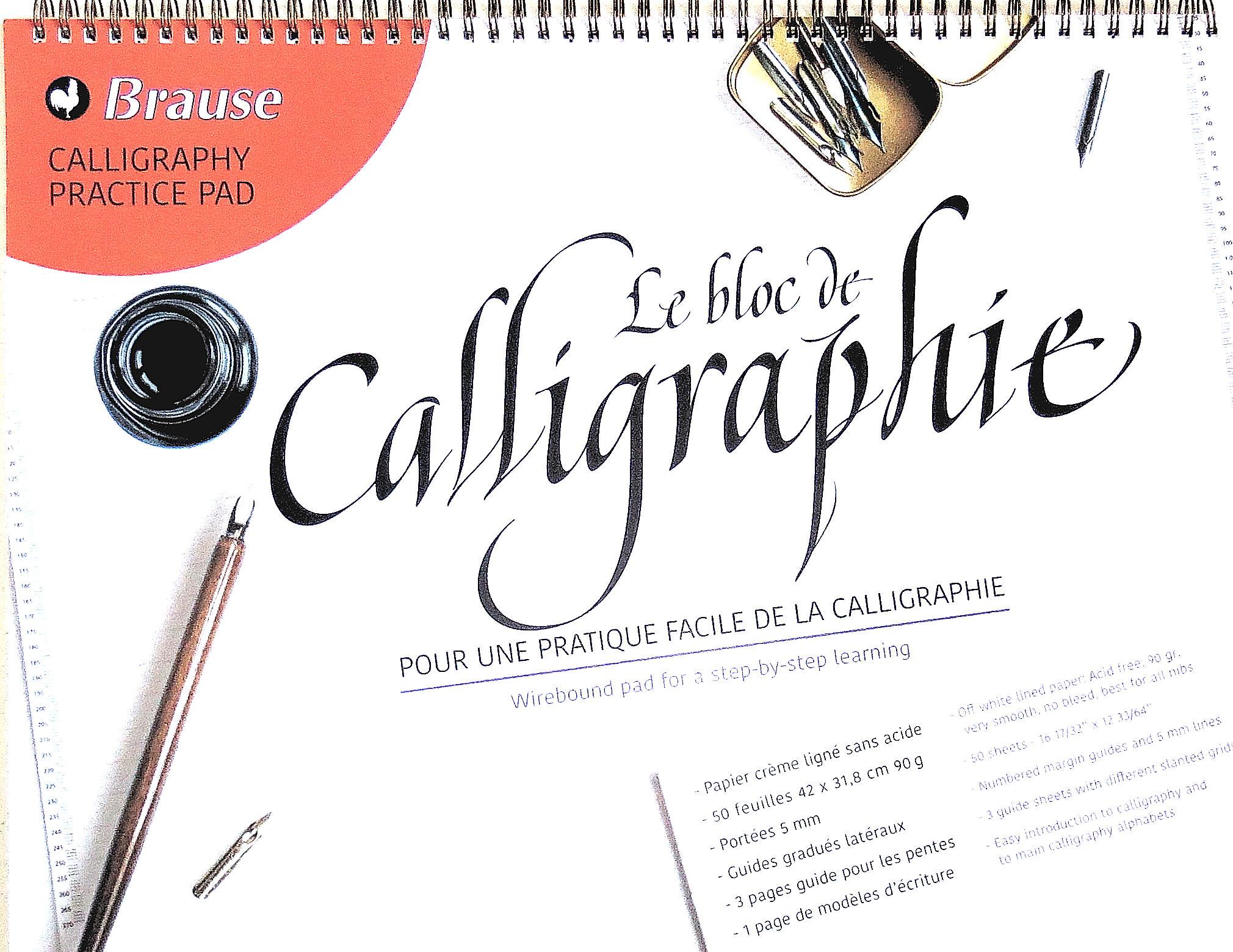 Méthodes de Calligraphie et d'Enluminure - Hiéroglyphes