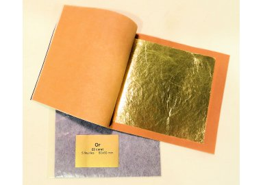 "Carnet de feuilles d'Or ""Dream Gold"""