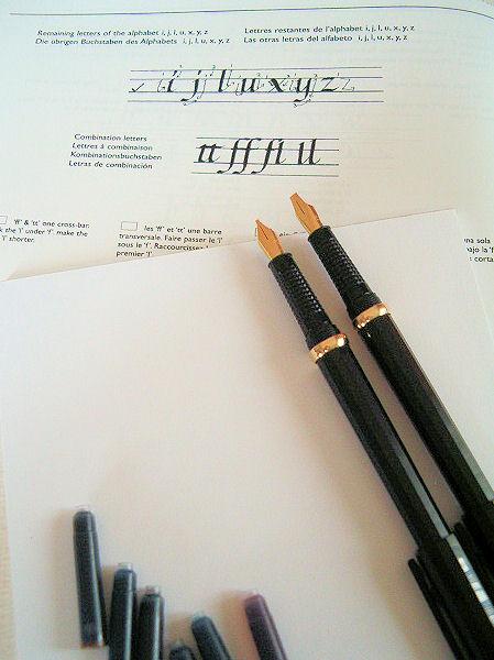 Coffret quot calligraphy hi�roglyphes
