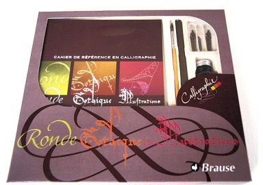 Coffret d'initiation à la Calligraphie N°1(J)