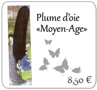 Plume d'oie '' Moyen Age '', Herbin