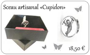 Sceau artisanal '' Cupidon ''