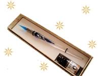 Porte-plume en verre de Murano