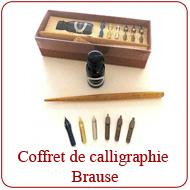 Coffret de Calligraphie Brause