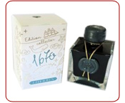 Encre Herbin 1670, ''Vert de Chivor''