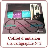 Coffret d'initiation à la Calligraphie N°2 (V)